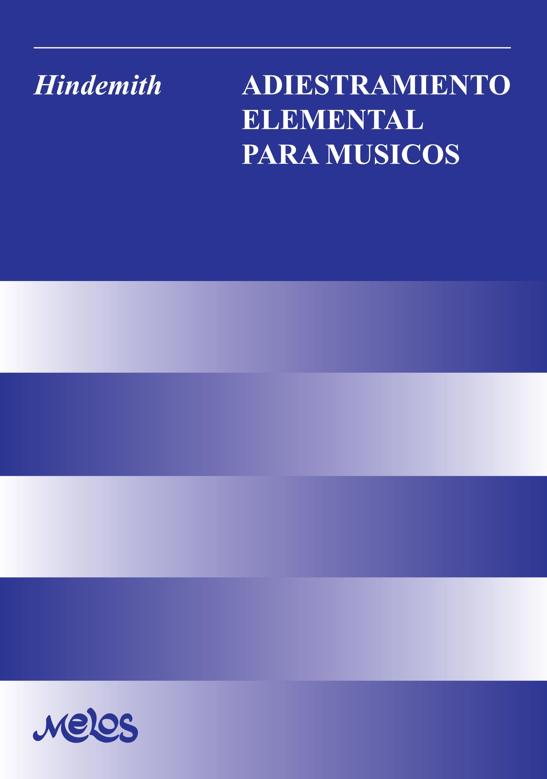 BA11441 - Adiestramiento elemental para músicos (Nuevo)