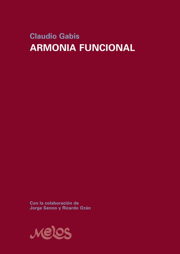 MEL2001 - Armonía Funcional - Claudio Gabis (Nuevo)