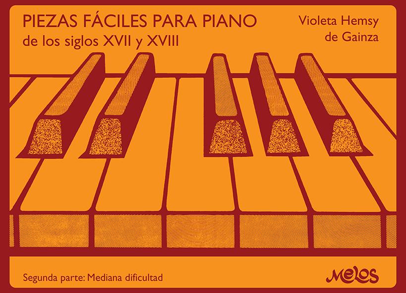 BA13206 - Piezas fáciles para piano de los siglos XVII y XVIII (Nuevo)