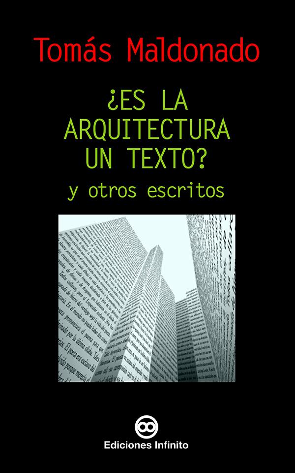 ¿Es la arquitectura un texto? (Nuevo)