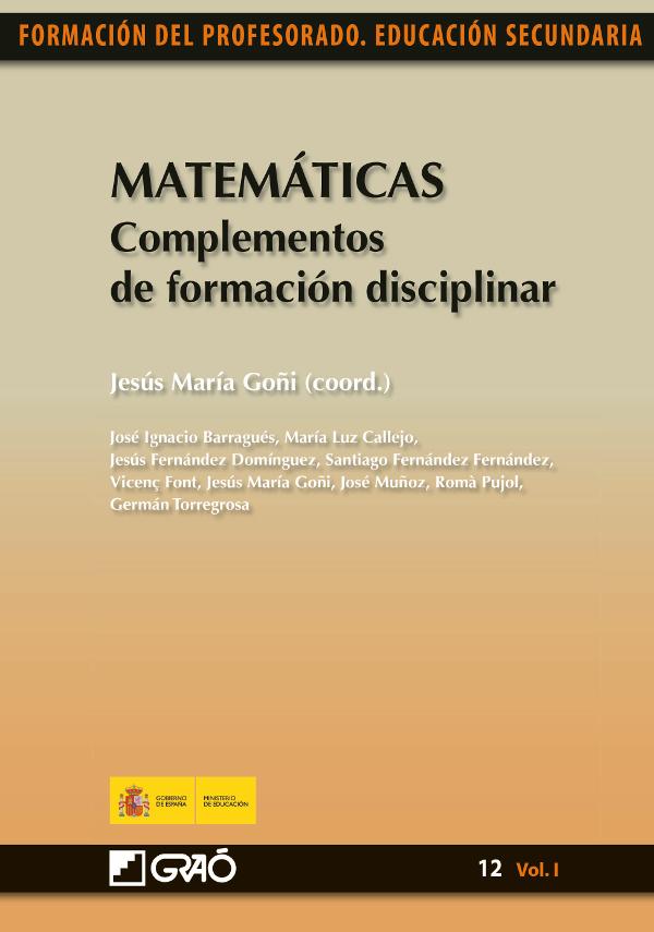 Matemáticas. Complementos de formacióndisciplinar (Nuevo)