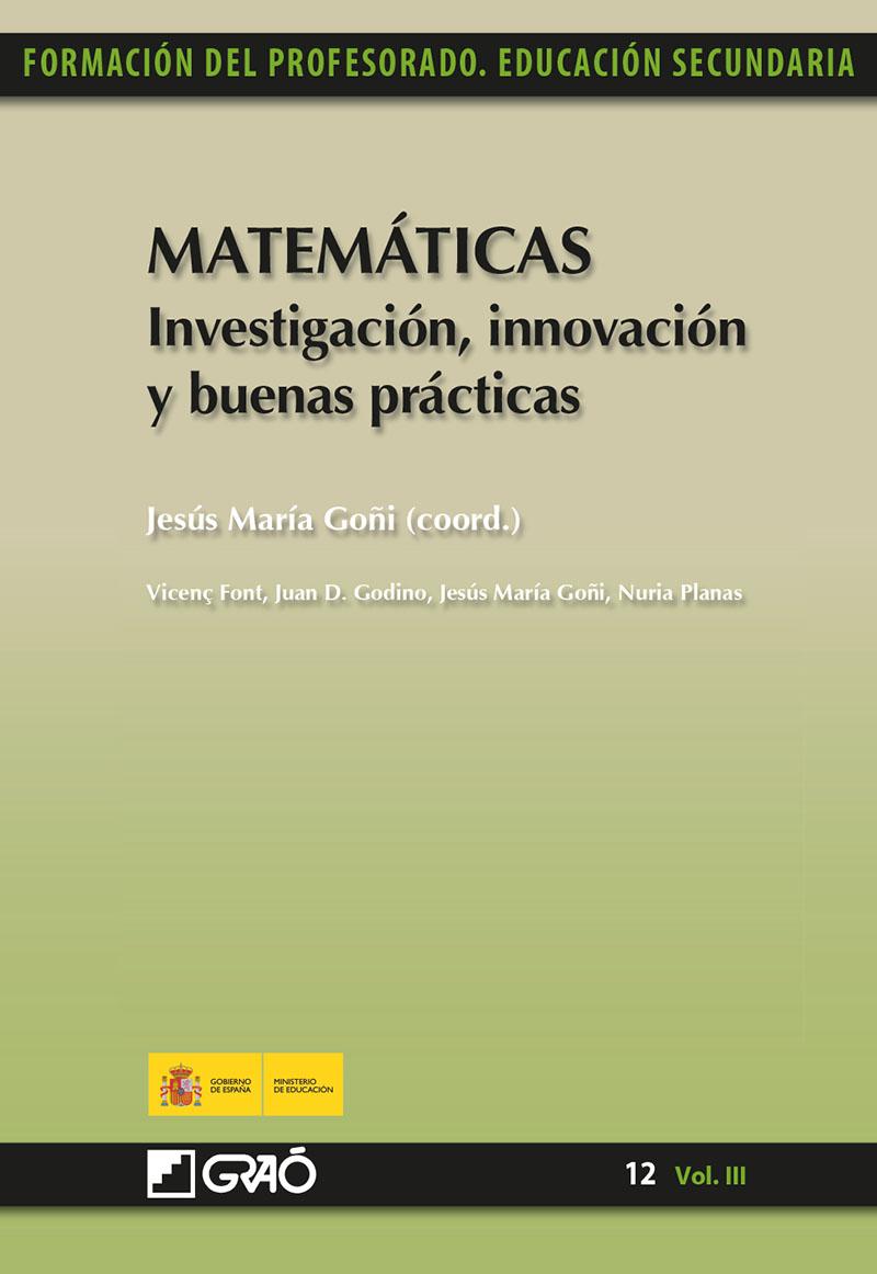 Matemáticas. Investigación, innovación y buenas prácticas (Nuevo)