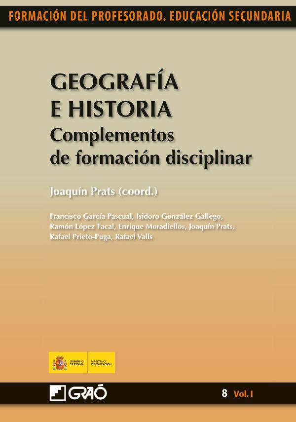 Geografía e Historia. Complementos deformación disciplinar (Nuevo)