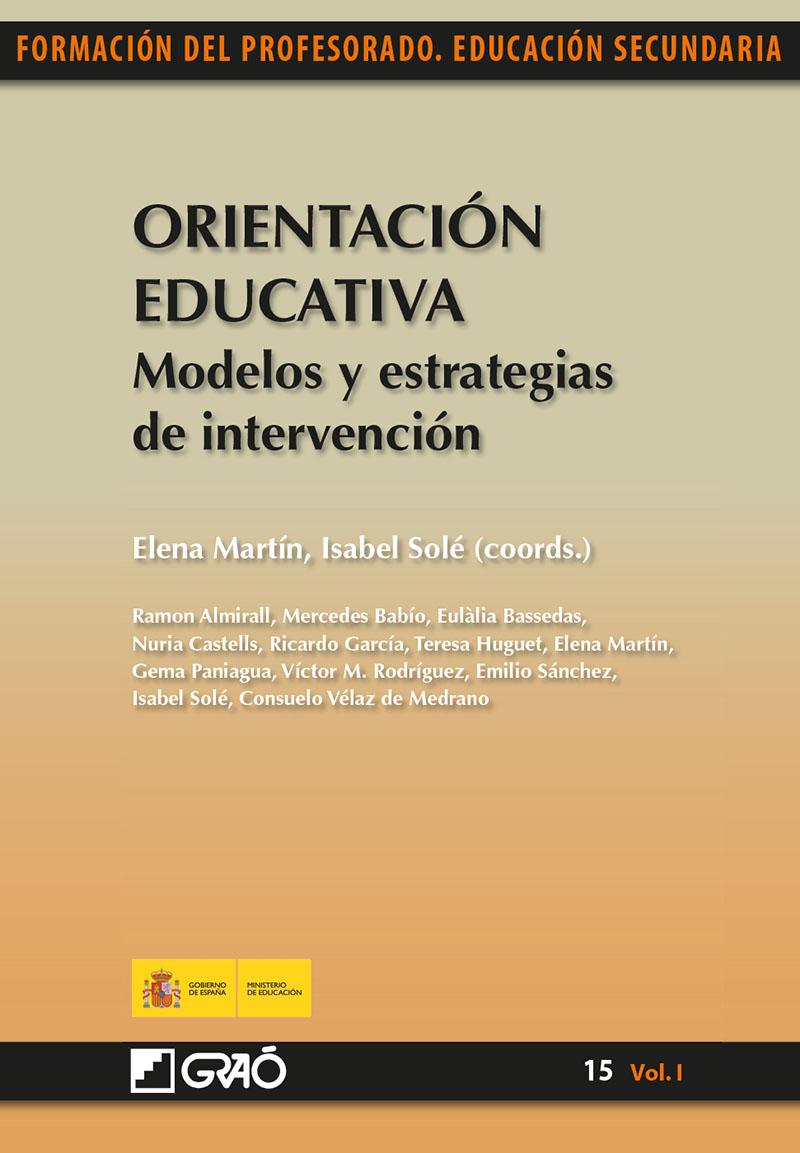 Orientación Educativa. Modelos y estrategias de intervención (Nuevo)